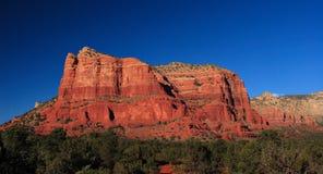 Rode rotsen bij sedona Stock Afbeelding
