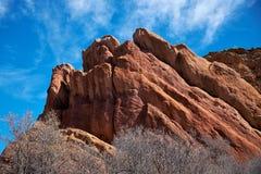 Rode Rotsen van Colorado Stock Afbeelding