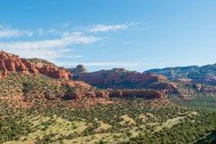 Rode Rotsen van Sedona, AZ Royalty-vrije Stock Afbeeldingen