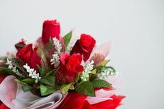 Rode rozen, boeket van rozen Royalty-vrije Stock Afbeeldingen