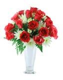 Rode rozenRegeling Stock Foto's