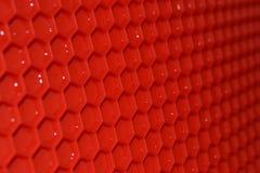 Rode rubbermat royalty-vrije stock foto