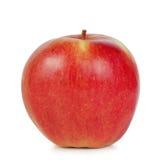 Rode sappige rijpe appel Royalty-vrije Stock Afbeeldingen