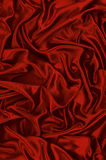 Rode satijnachtergrond Stock Afbeelding