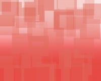 Rode schaduwen Royalty-vrije Stock Afbeelding