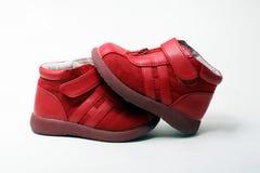 2x Rode meisjesschoenen (baby/peuter)