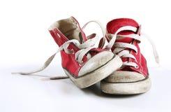 rode schoenen royalty-vrije stock afbeeldingen