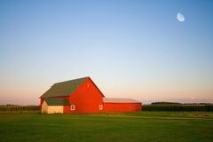 Rode schuur Stock Fotografie