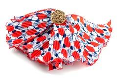 Rode sjaal Royalty-vrije Stock Afbeeldingen