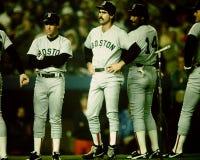 1986 Rode Sox de Wereldreeks van Boston Stock Afbeeldingen