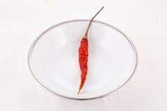 Rode Spaanse peper Royalty-vrije Stock Afbeeldingen