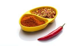Rode Spaanse pepers Stock Afbeelding