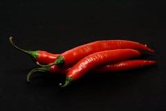 Rode Spaanse peperspeper royalty-vrije stock fotografie