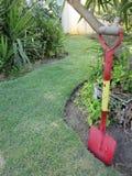 Rode spade Stock Foto