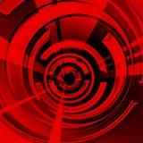 Rode spiraal Royalty-vrije Stock Afbeelding