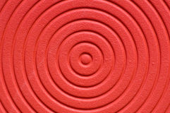 Rode spiraalvormige achtergrond Stock Foto