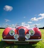 Rode Sportwagen royalty-vrije stock afbeeldingen