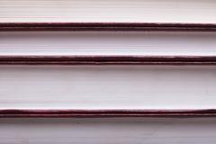 Rode stapelboeken Royalty-vrije Stock Foto