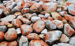 Rode steen Royalty-vrije Stock Foto