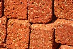 Rode Steenbaksteen voor achtergronddoel Royalty-vrije Stock Foto