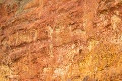 Rode steenmuur Royalty-vrije Stock Afbeeldingen