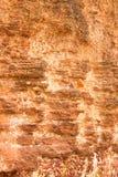Rode steenmuur Royalty-vrije Stock Afbeelding