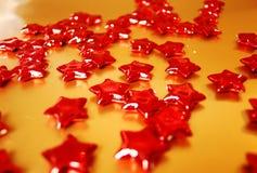Rode sterren Stock Afbeelding