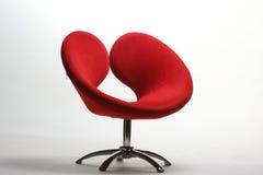 Rode stoel royalty-vrije stock foto
