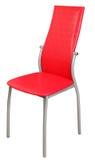 Rode stoel Stock Fotografie