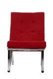 Rode stoel royalty-vrije stock foto's