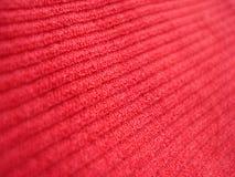 Rode stof Stock Afbeelding