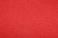 Rode stoffentextuur Stock Foto's