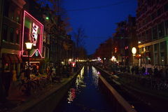 ` Rode Straat die ` roepen Royalty-vrije Stock Foto's