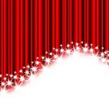 Rode strepen en sterren royalty-vrije illustratie