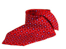 Rode stropdas Stock Fotografie