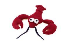 Rode stuk speelgoed kanker Stock Afbeeldingen
