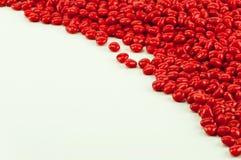 Rode suikergoedhoek Stock Fotografie