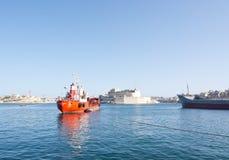 Rode tanker Sacro Cuor Stock Foto