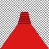 Rode tapijtvip stock illustratie