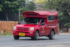 Rode taxi Chiang Mai De dienst in stad en rond Stock Afbeelding