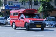 Rode taxichiangmai Royalty-vrije Stock Fotografie