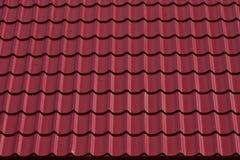 Rode tegels Royalty-vrije Stock Fotografie
