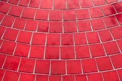 Rode Tegels Stock Afbeelding