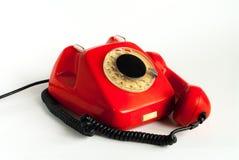 Rode telefoon Stock Afbeeldingen