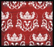 Rode toile backrgound Stock Afbeelding