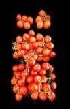 Rode tomaten voor verkoop Stock Foto