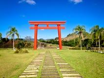Rode torii Stock Afbeeldingen