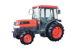 Rode tractor Stock Afbeeldingen