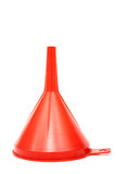 Rode trechter Stock Afbeelding