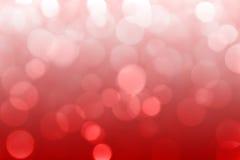 Rode vage abstracte bokehachtergrond Stock Fotografie